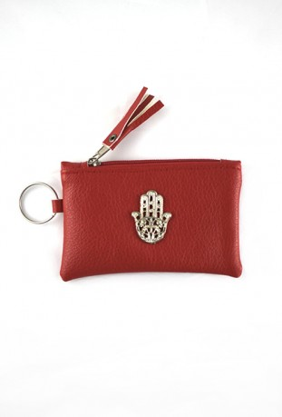 Silver hand pouch from Fatma