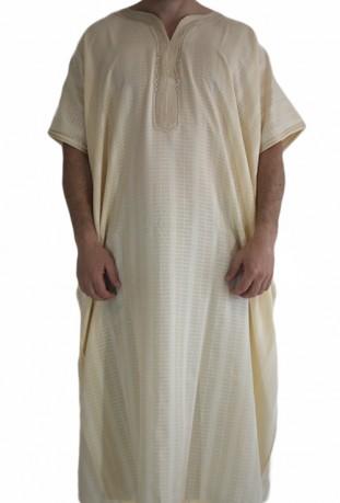 Djellaba man beige medina