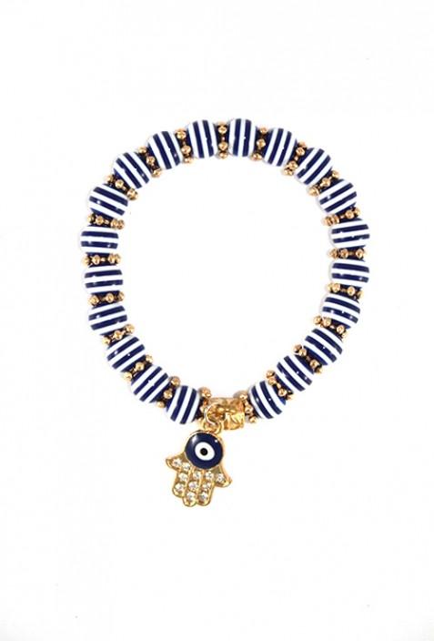 Moroccan lucky bracelet
