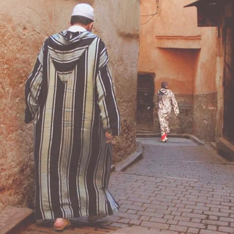 Djellaba homme du Maroc