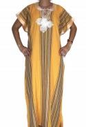 Chilaba mujer amarilla Rabat