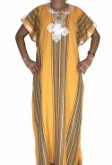 Djellaba yellow woman Rabat