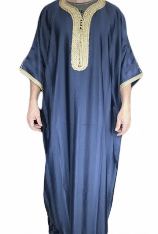 Djellaba homme bleue Agadir