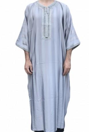 Kaftan Agadir blau Mann Medina