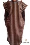 Chilaba hombre marrón especial invierno