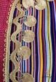 Traditioneller violettfarbener Kaftan Djellaba 2021