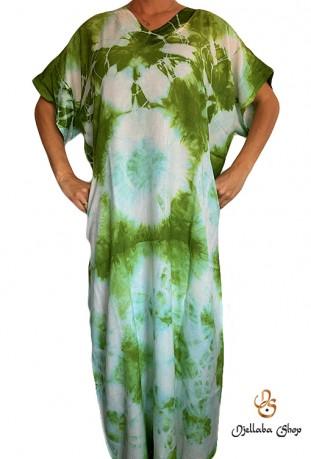 Djellaba grüne Frau Strand Kaftan Serie