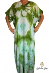 Djellaba green woman beach kaftan series