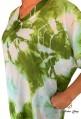 Djellaba green woman beach kaftan series