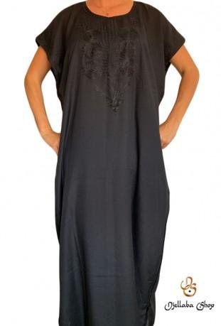 Djellaba Kaftan moderne schwarze Frau