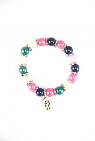 Bracelet multicouleurs main de Fatma