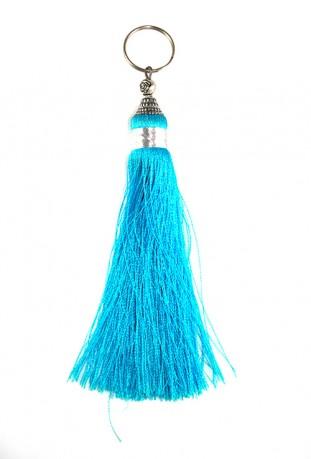 Schlüsselanhänger Blau Aladin