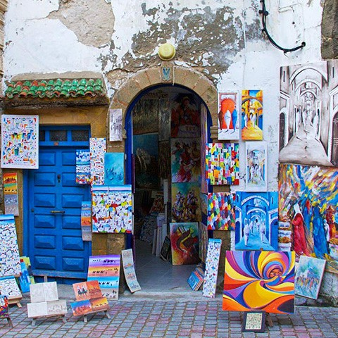 Artists in the heart of the medina