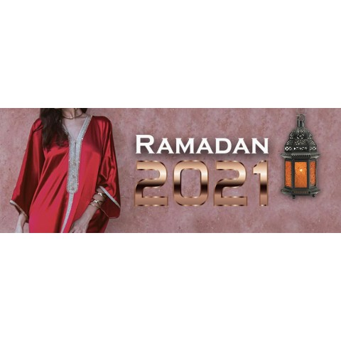 Rebajas Djellaba Woman 2021 para Ramadán